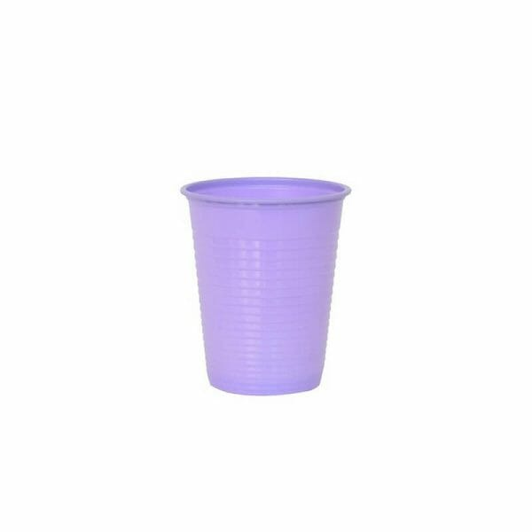 Violetinė vienkartinė stiklinė
