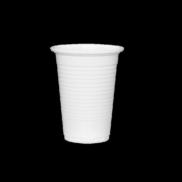 Vienkartinė stiklinė balta